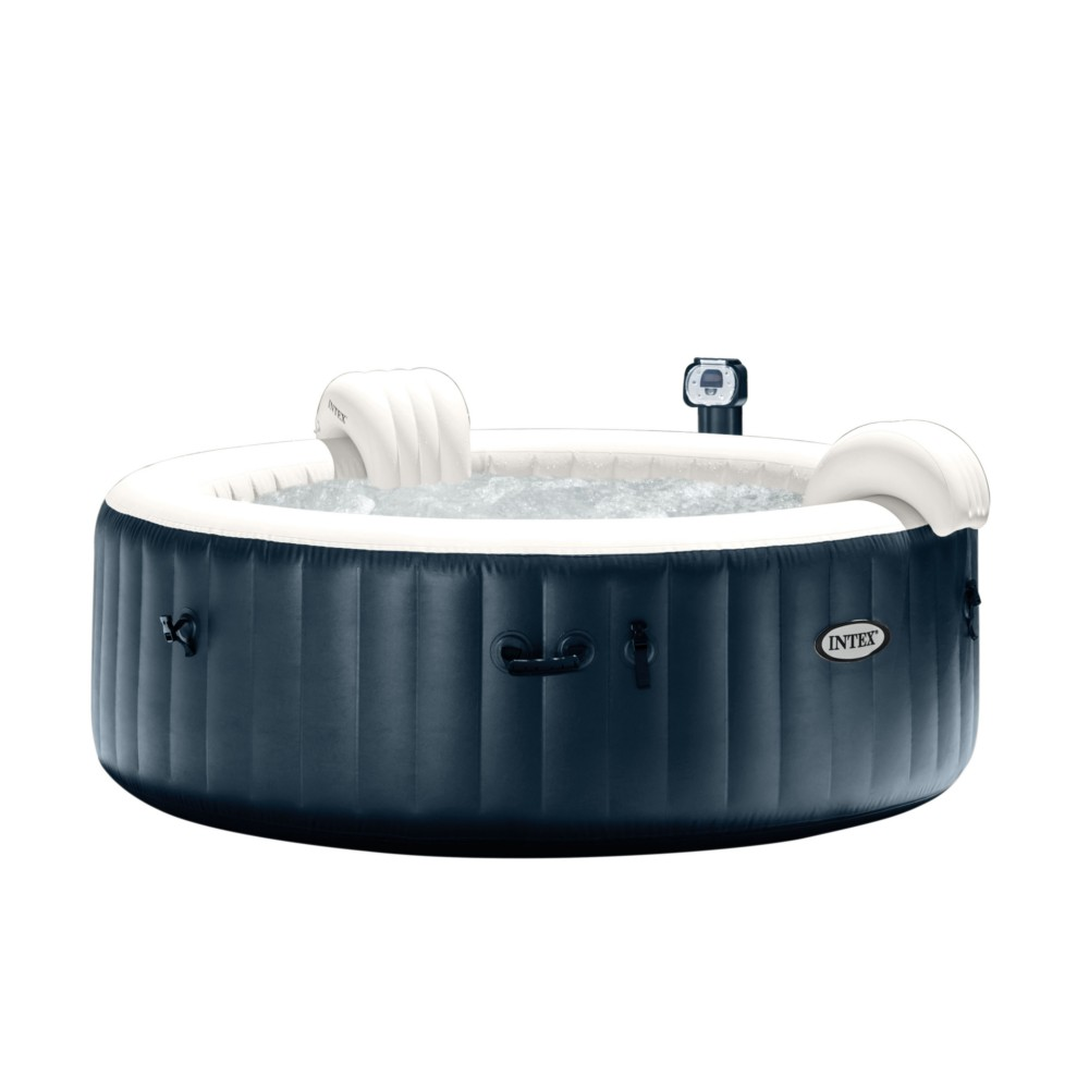 Pure spa Intex 6 places à bulles et LED L.216 x l.71 cm - Spa - Piscine,  sauna & spa - Jardin & Exterieur