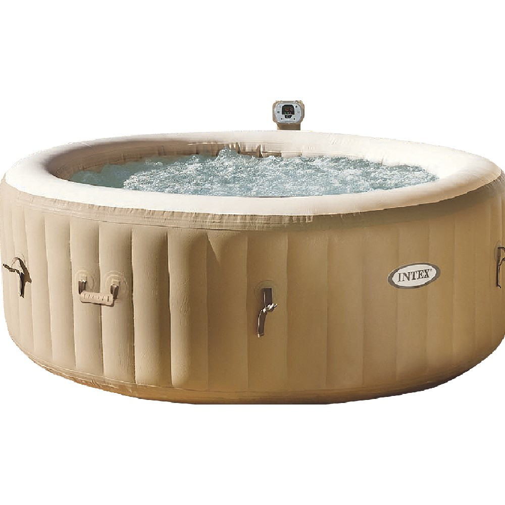 spa gonflable à bulles pure spa intex 4 places (GiFi-418172X)