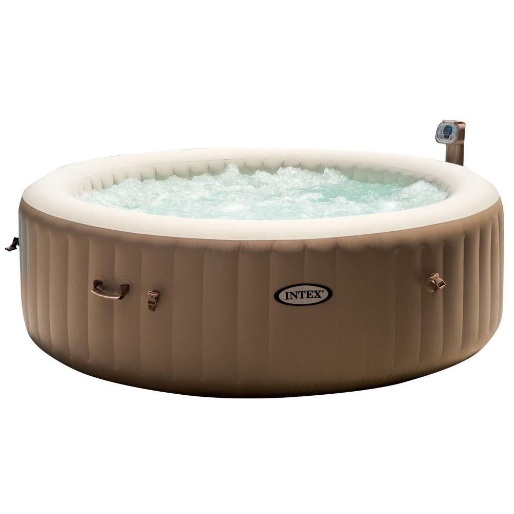 spa gonflable à bulles pure spa intex 6 places (GiFi-418199X)