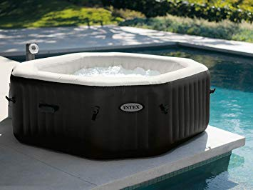 Spa gonflable PureSpa octogonal Bulles + Jets 6 places - Intex