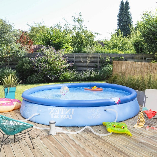 Piscine gonflable intex centrakor - Maison mobilier et design