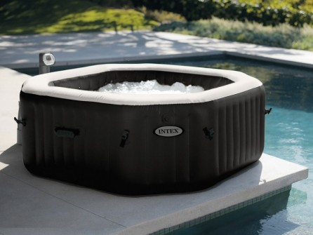 ... Spa gonflable PureSpa octogonal Bulles + Jets 6 places - Intex